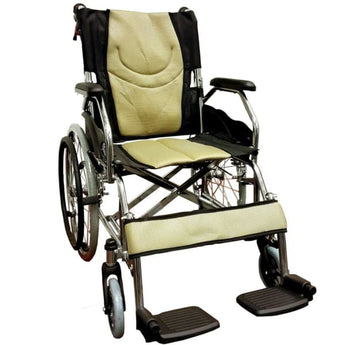 Esco Lightweight Wheelchair (Gold) WCH7041LW - Wheelchair - 1