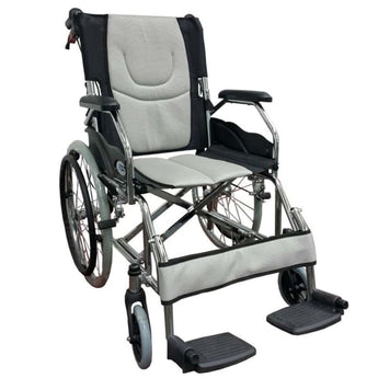 Esco Lightweight Wheelchair (Grey) WCH7041LW - Wheelchair - 1
