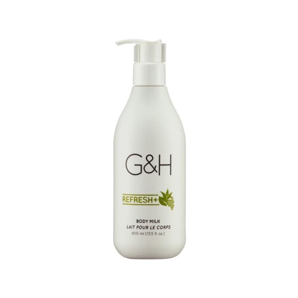 G&H REFRESH+ Body Milk (400ml) - Body Care - 1