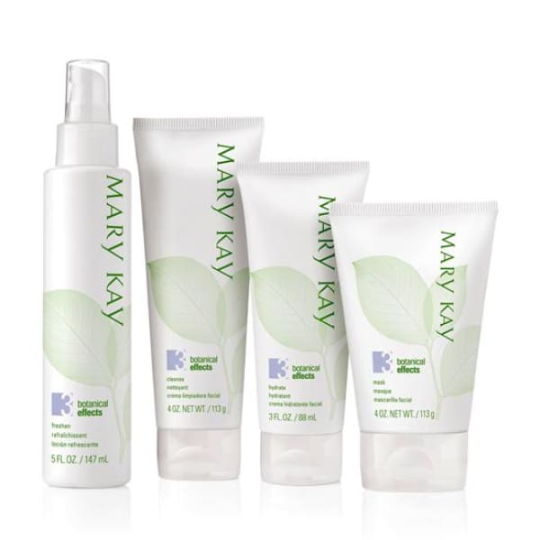 Mary Kay Botanical Effects Skin Care Set Formula 3 (Oily Skin) - Skin Care Set - 1