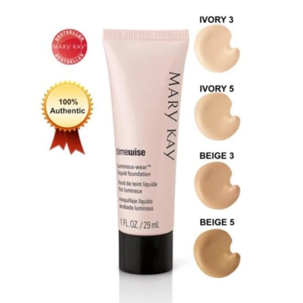 Mary Kay TimeWise Luminous-Wear Liquid Foundation (Beige 3) 29ml - Foundation - 1