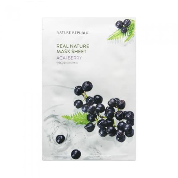 NATURE REPUBLIC Real Nature Mask Sheet 23ML - Face Mask - 2