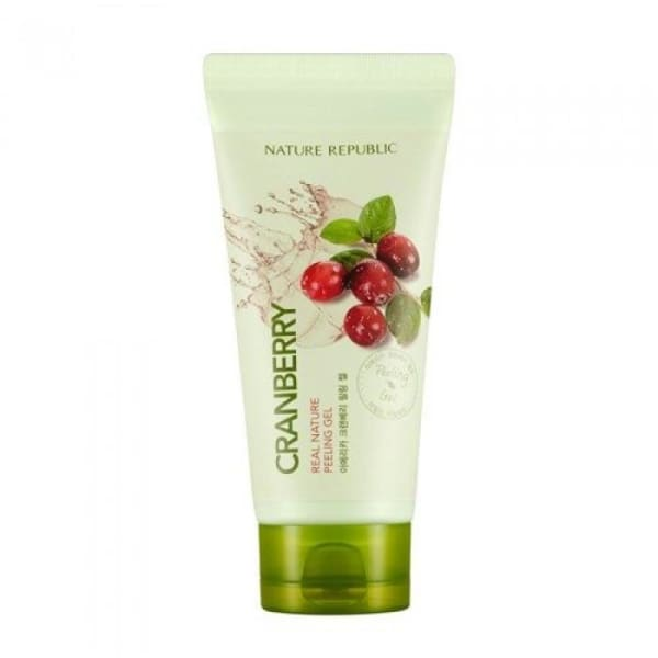 NATURE REPUBLIC Real Nature Peeling Gel -Cranberry 120ML - Face Scrubs & Peels - 1