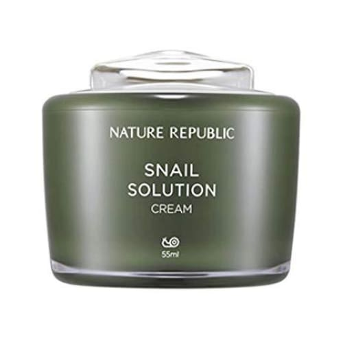 NATURE REPUBLIC Snail Solution Cream 55ML - Moisturizers & Creams - 1
