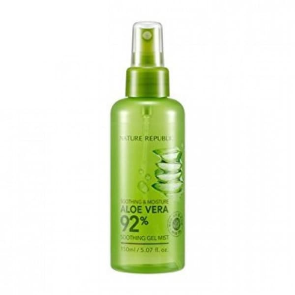 NATURE REPUBLIC Soothing & Moisture Aloe Vera 92 Soothing Gel Mist 150ML - Toners & Mists - 1