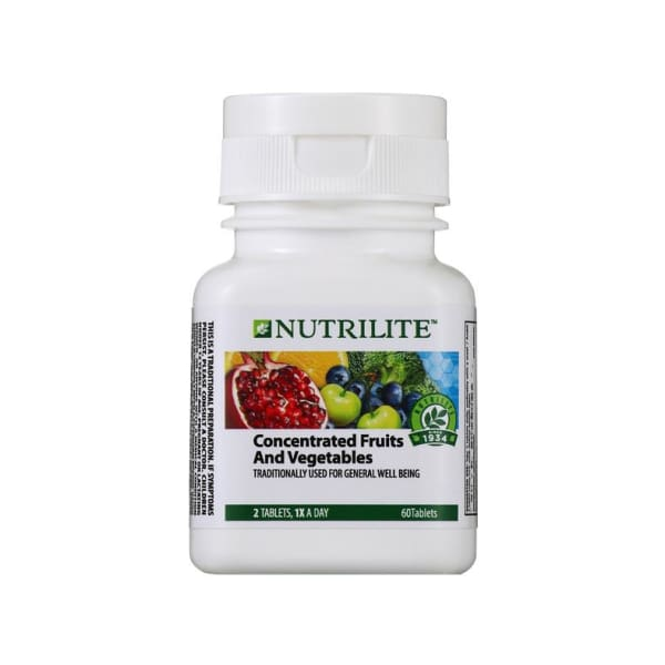 NUTRILITE Concentrated Fruits and Vegetables (60 tab) - 1