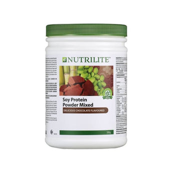NUTRILITE Soy Protein Drink Mix - Chocolate Flavour (500g) - 1