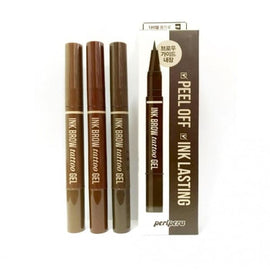 PERIPERA Ink Brow Tattoo Gel - 02 Brown - Eyebrow Kit - 1