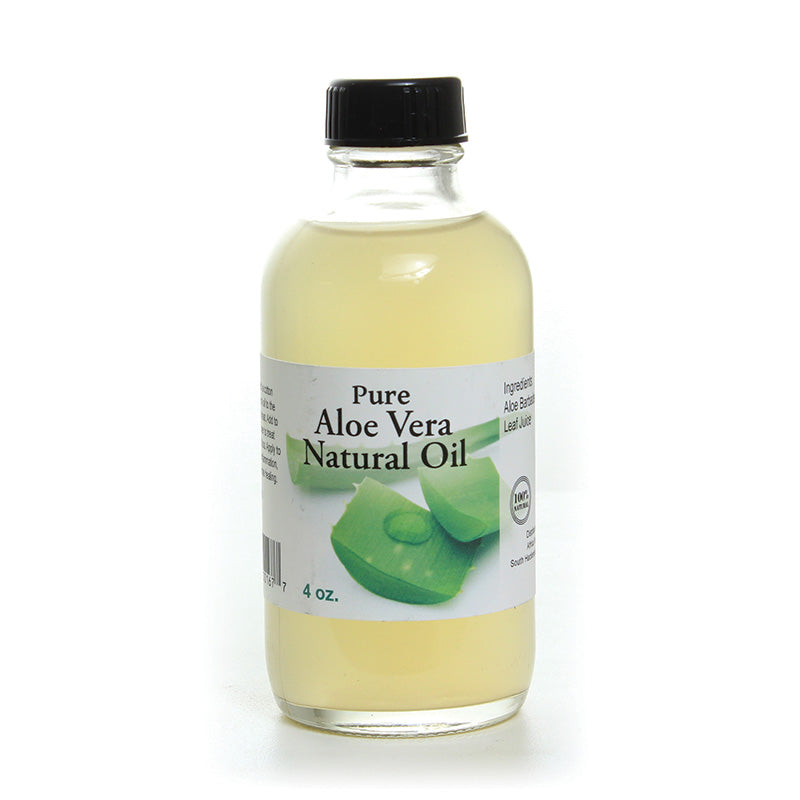 Aloe Vera Natural Oil - 4 oz...100%  Aloe vera - LSM Boutique's Fashion N Fragrances