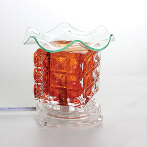 Electric Fragrance Glass Oil Burner  & 1/2 oz Free Fragrance Oil - LSM Boutique's Fashion N Fragrances
