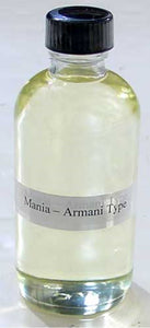 Mania (Men) Giorgio Armani Type - 4 oz...Sophisticated and fresh - LSM Boutique's Fashion N Fragrances