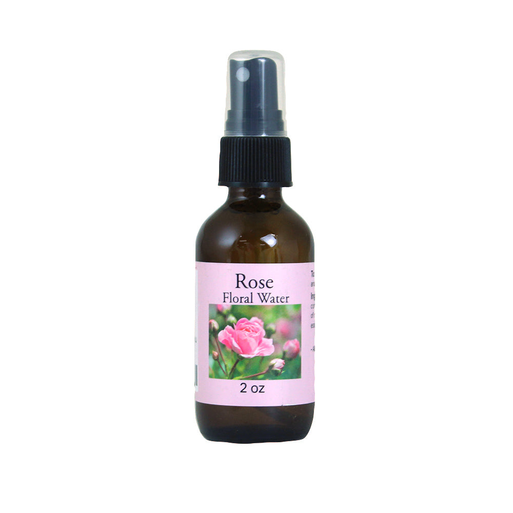 Rose Floral Water - 2 oz...stimulate circulation - LSM Boutique's Fashion N Fragrances