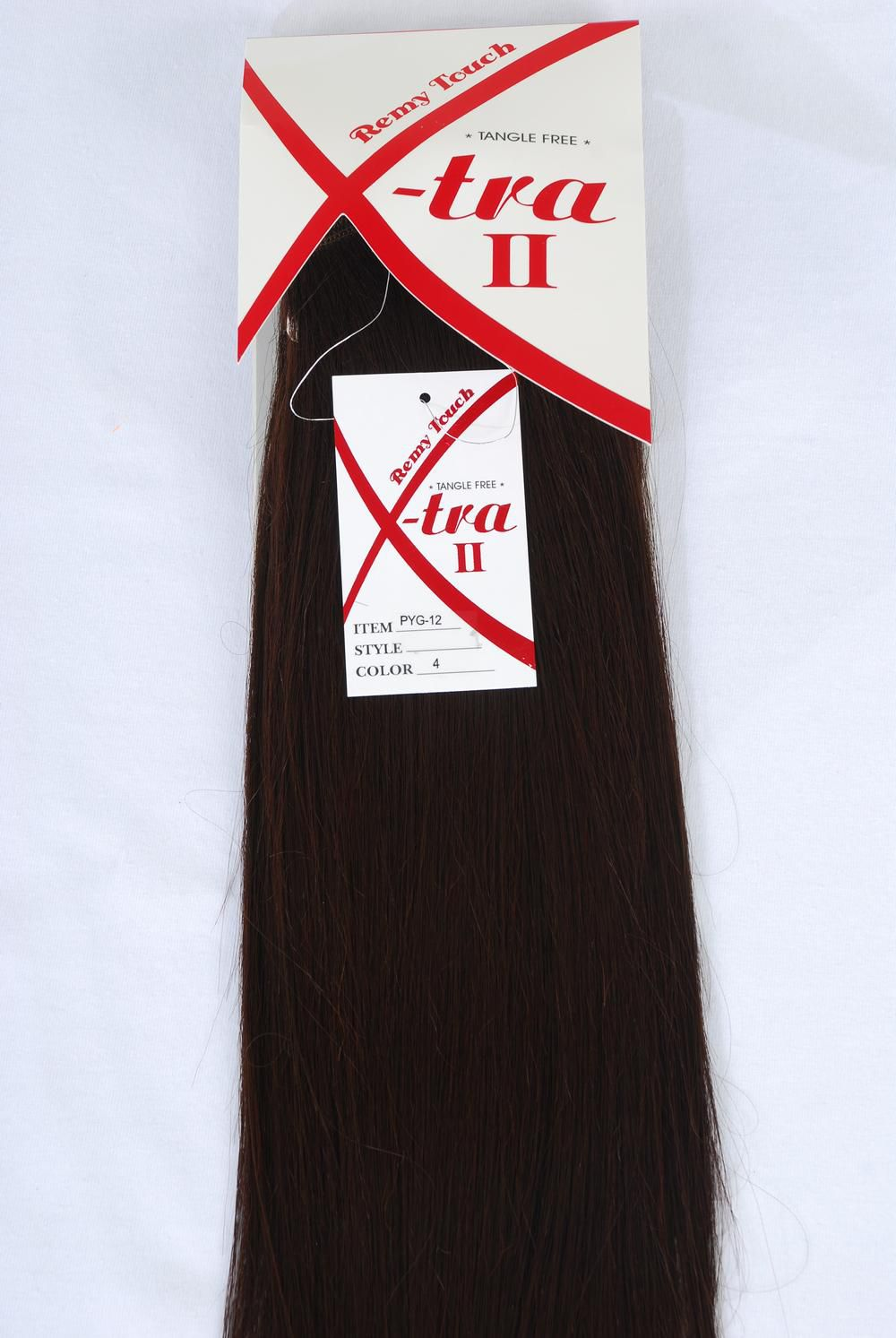 Women's Remy Human Hair Dark Brown 12'' long/ PK $24.99
