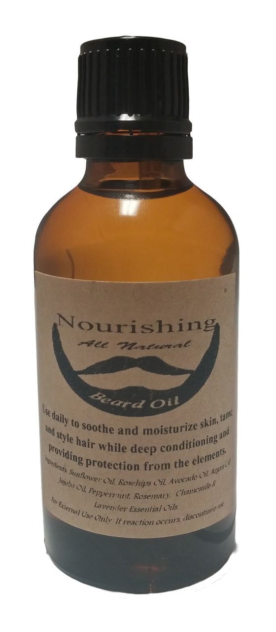 Men's Nourishing Beard Oil...natural, nourishing ingredients - LSM Boutique's Fashion N Fragrances