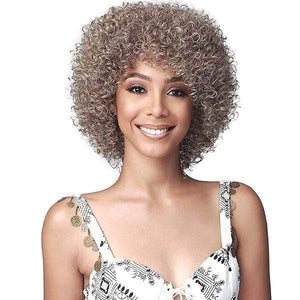 Human Hair Curly Wig...Ready to wear