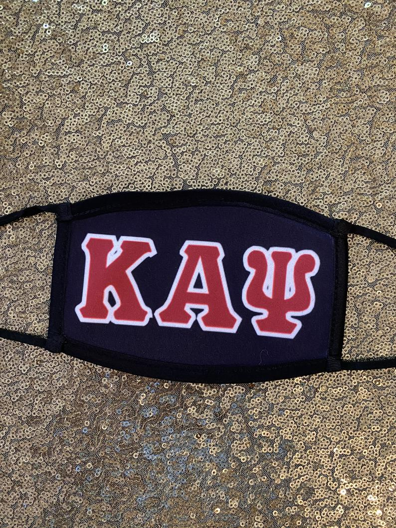Custom Kappa Alpha Psi Face Mask
