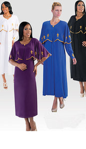 Women's Designer Robe and Ministry Dress - LSM Boutique's Fashion N Fragrances