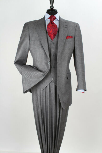 Men's Fashion Grey Suit 3 piece