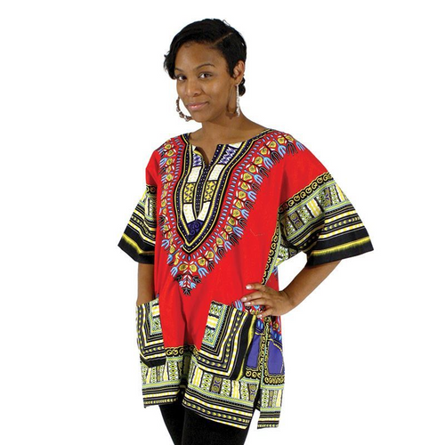 Dashiki Red...stand-out design