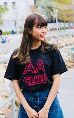 AA Club T-Shirt (Neon Red)