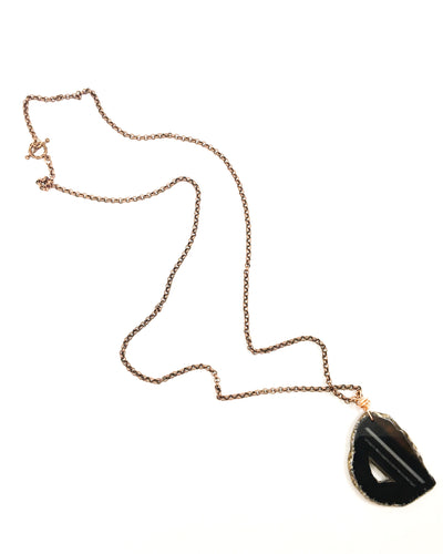Black Onyx Necklace