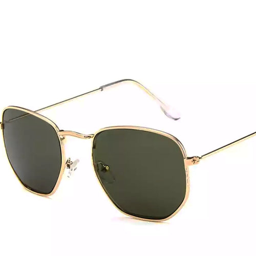 Unisex boho gold sunglasses for festivals