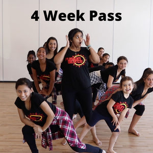 **ONLINE SPECIAL** Unlimited 4 Week Online Bollywood Dance Classes