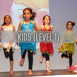Mini/Kids Bollywood (Level 1) 4-6yrs