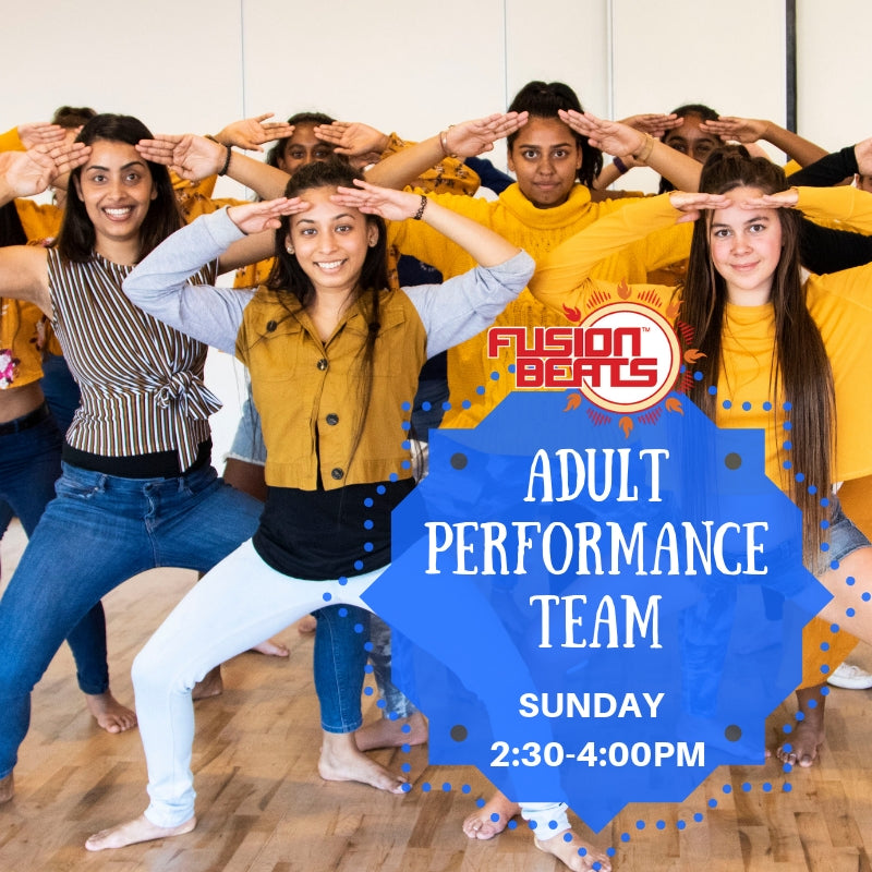 TERM 3, 2019 : NEW STUDENTS Adult Pro Team Bollywood/Bollyfunk (7 Weeks)