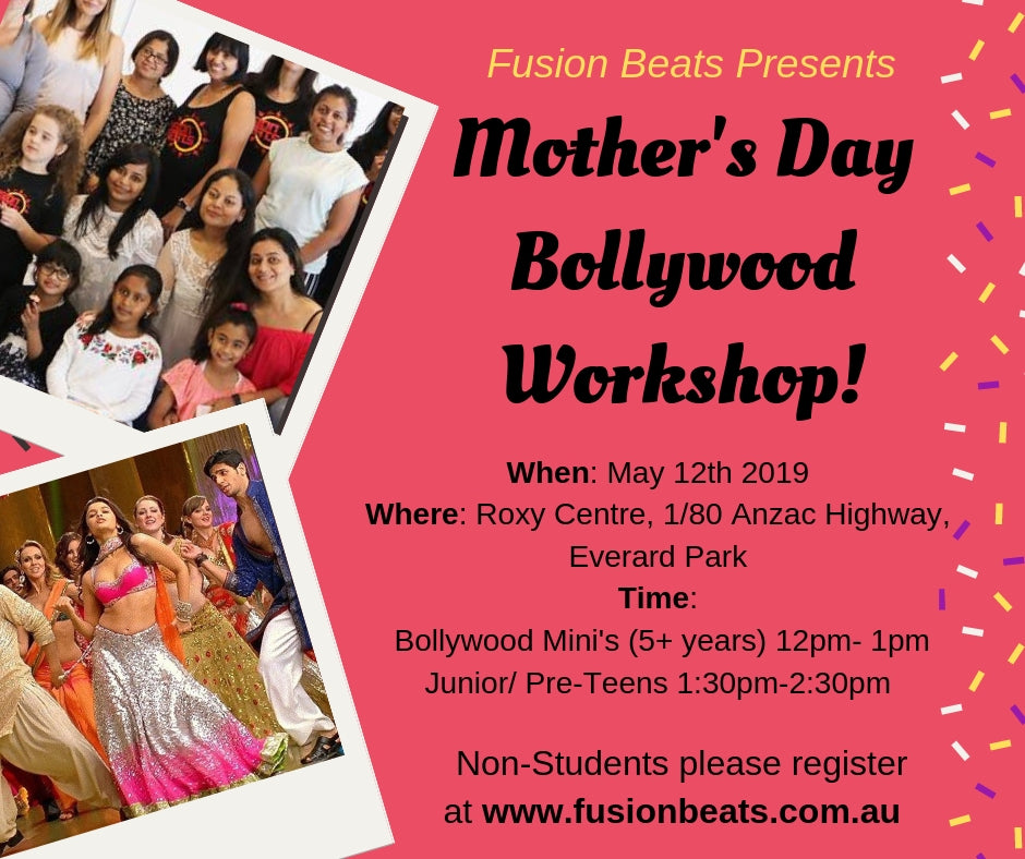 Mother's Day 2019 Bollywood Workshop