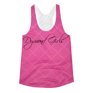 Dymond Girls Fuscia Women's Racerback Tank
