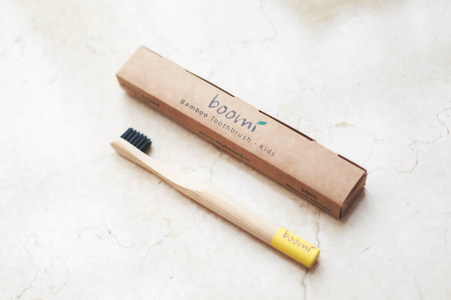 Kids Bamboo Toothbrush Zero-Waste Products | Boomi | Singapore | South East Asia