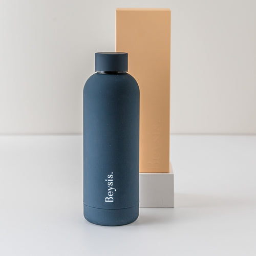 Beysis Watter Bottle Navy, Corporate Gift, Present