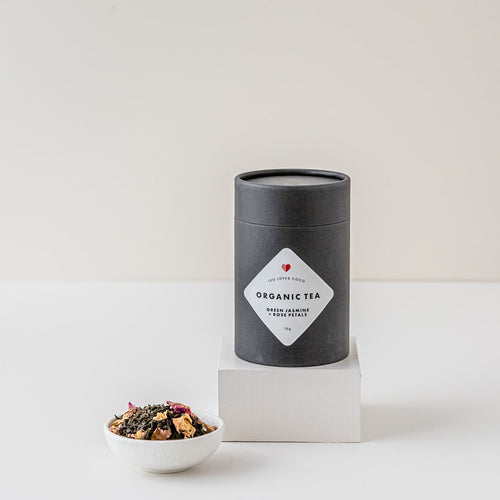 Green Jasmine and Rose Petal Organic Tea | Leo loves Coco