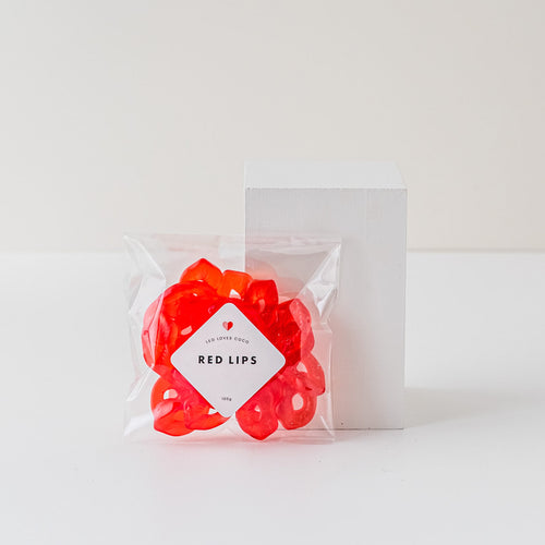Red Lips Lolly Bag | Leo loves Coco