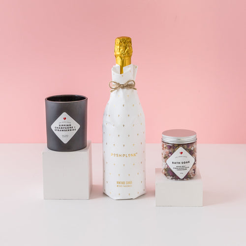 Pop the Champagne Gift Hamper, Birthday Present, Gift Delivery