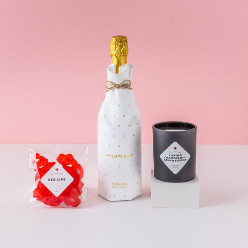 starwberry kisses gift hamper