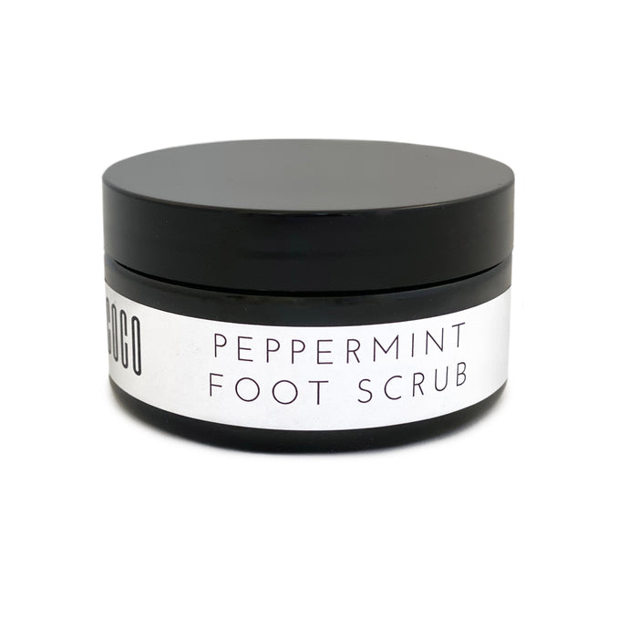 Peppermint Foot Scrub - Leo loves Coco