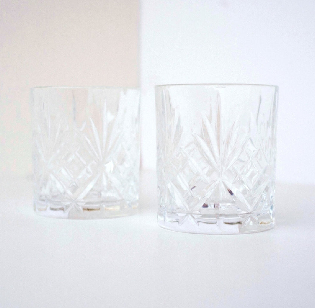 Old Fashioned Rock Glasses - Leo loves Coco