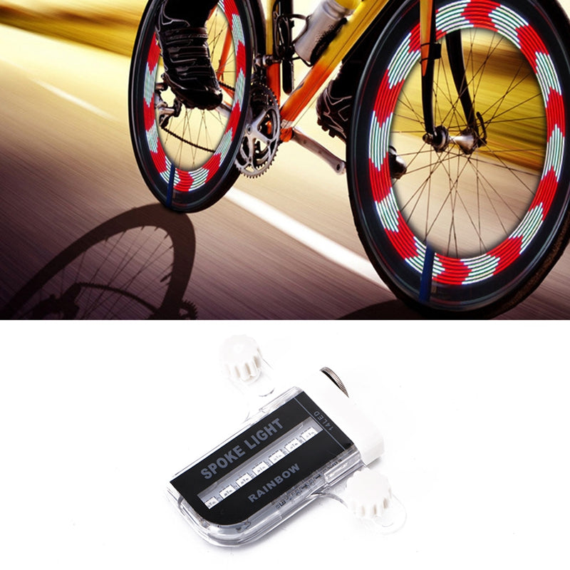 14 LED Light for Wheel / Tire Spoke on Motorcycles and Bicycles with 30 Patterns