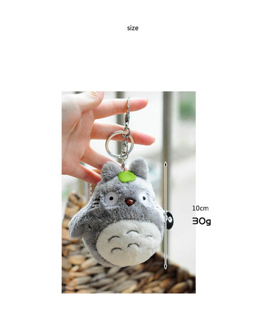 Studio Ghibli My Neighbor Totoro Mini Plush Doll Keychain - Available in 2 Different Variant