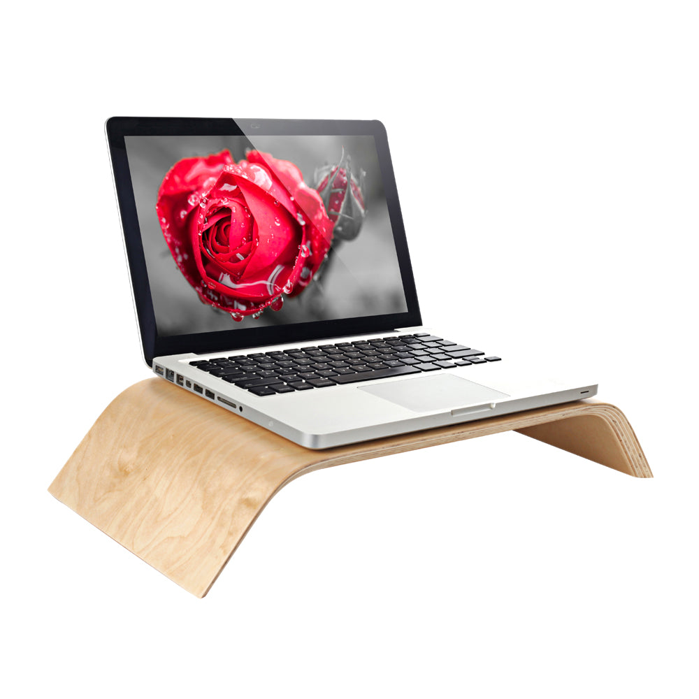 Universal Wooden Stand for Monitors and Laptops