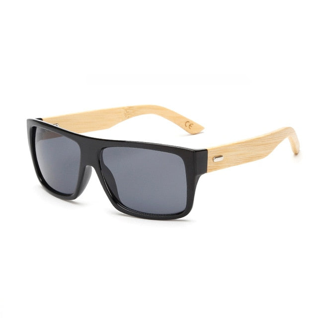 Classic Righteous Wooden Frame Sunglasses