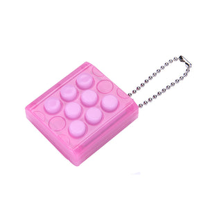 Endless Puchi Puchi, infinite Bubble Wrap Pop Stress Relieve Keychain