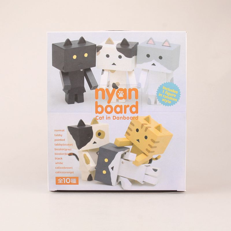 Nyanbo! Anime Nyanboard 10 pcs Mini Figure Set