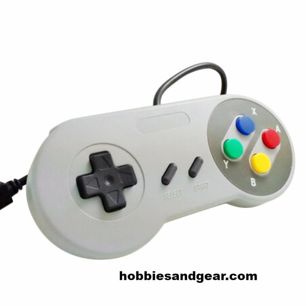 Retro Classic SNES / Famicom Styled USB Gamepad Controller for Windows and MAC