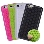 Endless Puchi Puchi, infinite Plastic Bubble Wrap Pop Case for iPhone 5 5S SE 6 6S Stress Relieve Cover
