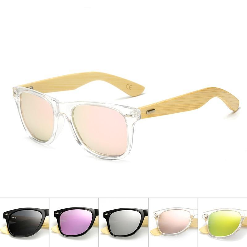 Classic Wayf Wooden Frame Sunglasses
