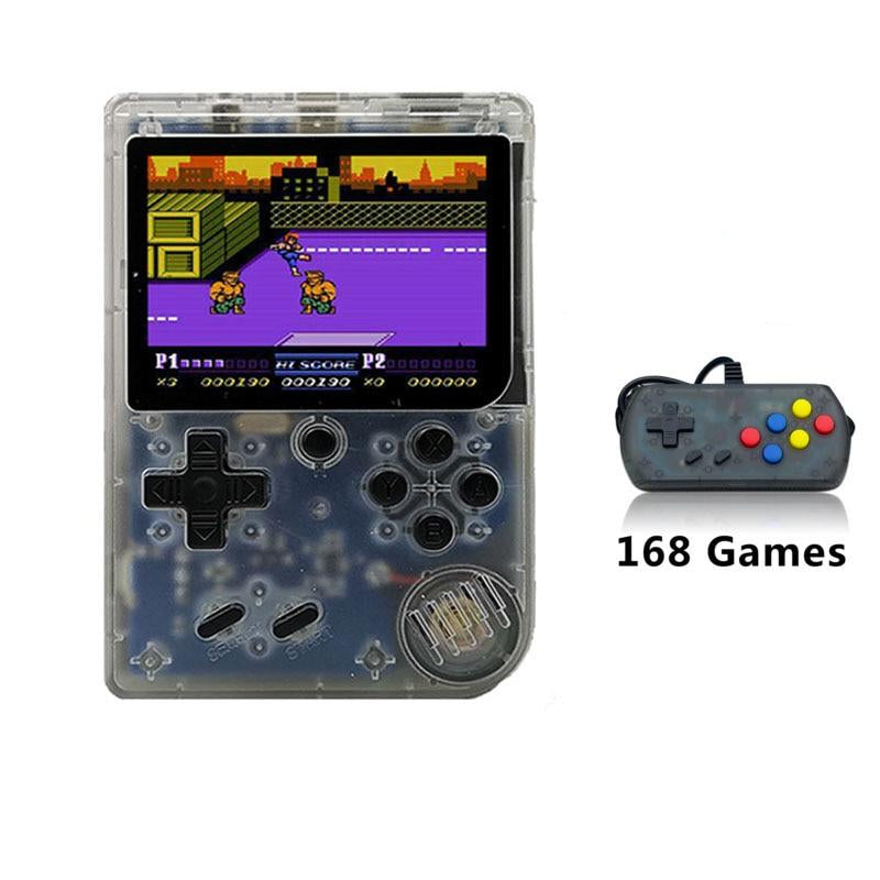 Portable 8 Bit Retro Mini Handheld Game Console with 168 Built In Classic Games