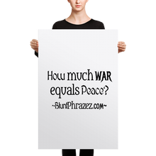 How Much War